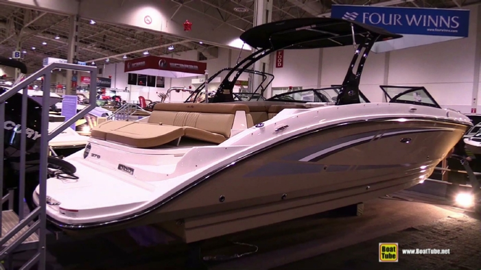 2015 Sea Ray 270 Sundeck Motor Yacht at 2015 Toronto Boat Show