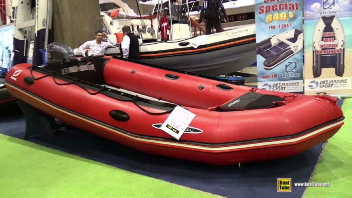 2015 Zodiac Futura MK3 Inflatable Boat at 2015 Montreal Boat Show