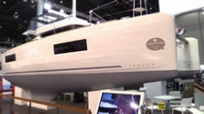 2018 Lagoon 40 Catamaran at 2018 Boot Dusseldorf Boat Show
