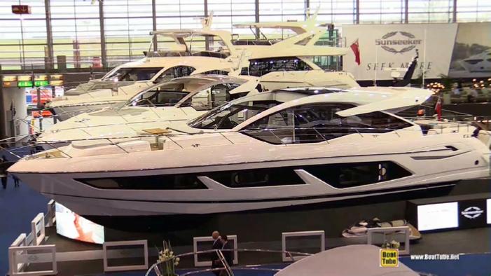 2018 Sunseeker Predator 74 Luxury Yacht At 2018 Boot Dusseldorf Boat